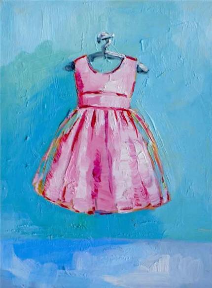 Pinkdresspainting