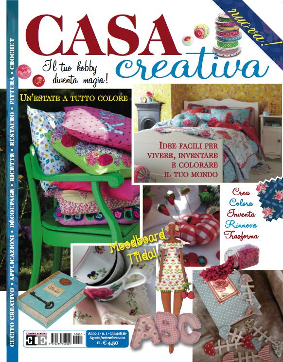 Casapinka casa creativa magazine for Casa magazine