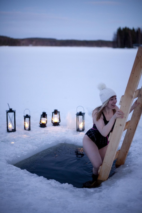 Iceswimming