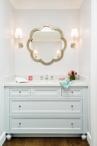 Unique Beautiful And Unique Bathroom Mirrors  Decozilla