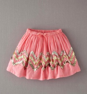 Pinksequinskirt