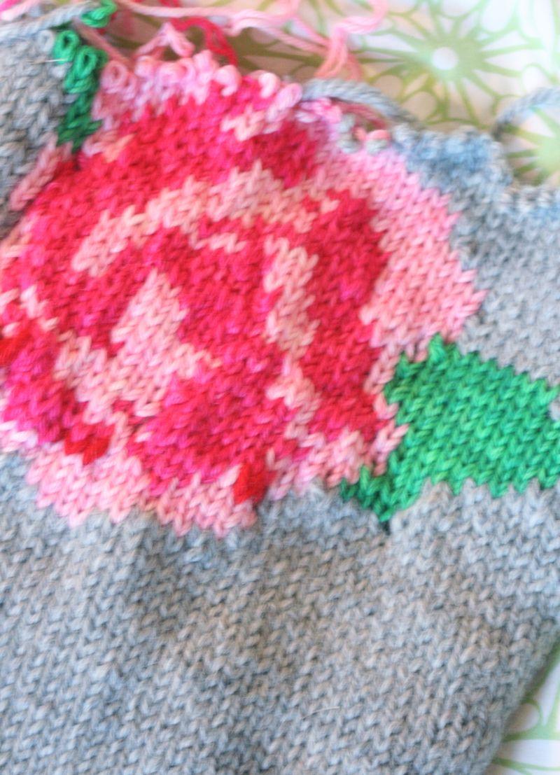 Knittedrose